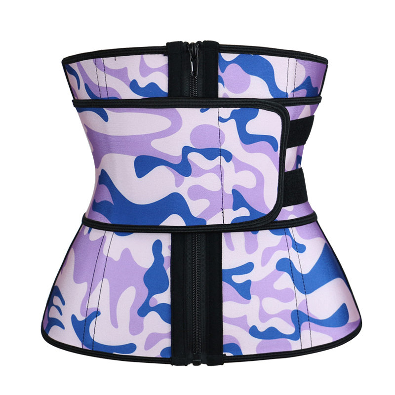 Beautiful Waist Trainer Purple Camouflage